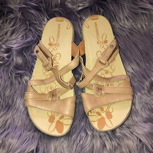 Women's Merrell Sway Leather Sand Dollar Size 8